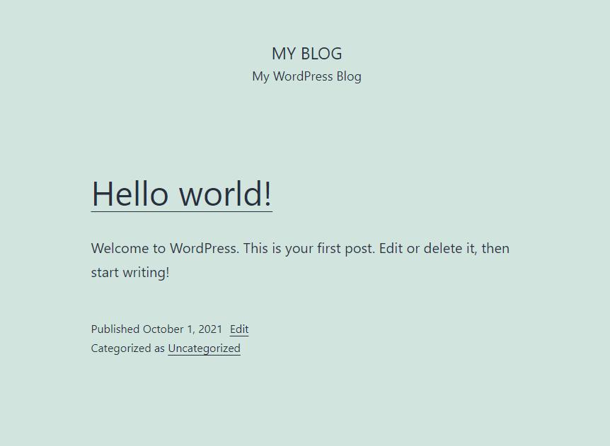 wordpress-homepage